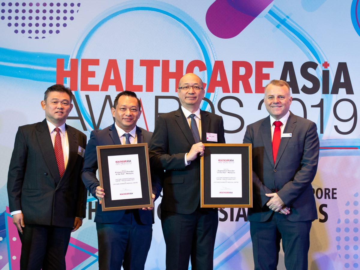 Life Care Diagnostic Medical Centre bags 2 awards at Healthcare Asia Awards 2019